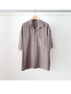 open collar ss shirts (GRY)