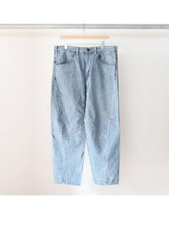 Engineered denim pants (INDIGO)