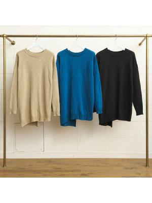 7G crew neck knit sweater