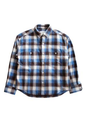 Boys check shirt (BLU)