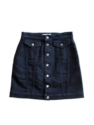 Denim skirt (INDIGO)