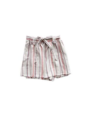 Wrap around mini culote skirt