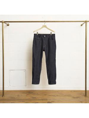 12oz denim slim pants (Wash)