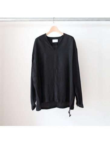 Cupro Pullover Shirts (BLK)