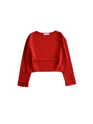 Boatneck cutsew (RED)