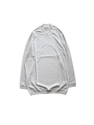 SWEAT L/S TEE (L.GRY)