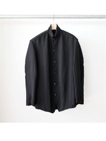 slant shoulder jacket (BLK)