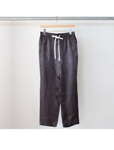 cupro tapered easy pants