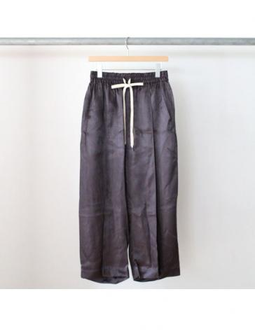 cupro wide easy pants