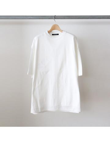 layered S/S t-shirts (WHT)