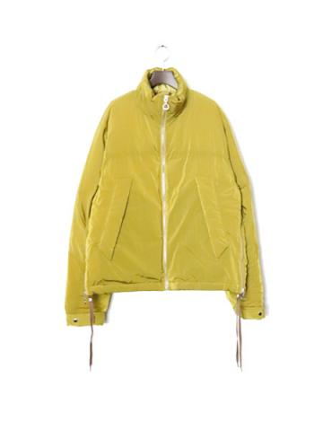 "SIDE ZIP DOWN JKT ""A"" (LIME)"