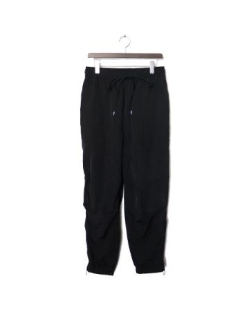 "SIDE ZIP TECH JOGGER ""A"" (BLK)"