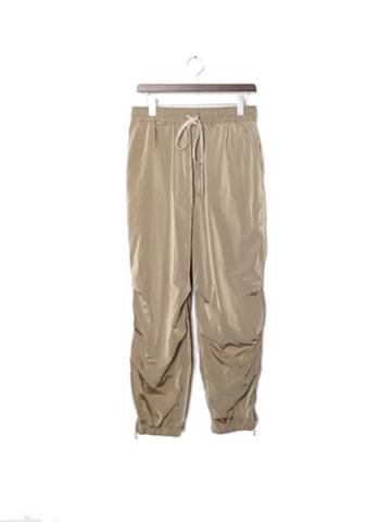 "SIDE ZIP TECH JOGGER ""A"" (BEG)"