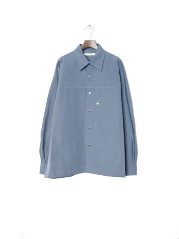 S.S. ACTIVE SHIRT J.P. (BLUE GRAY)