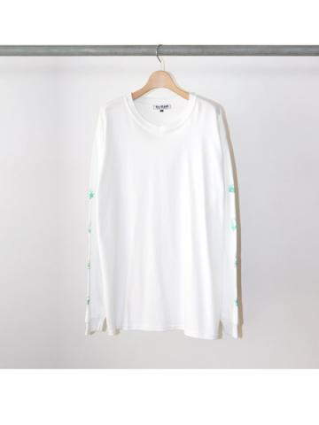 PARTY'S OVER L/S TEE (WHT)