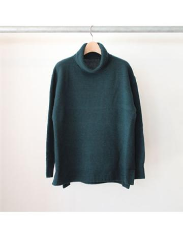 Boiled wool big turtle pullover