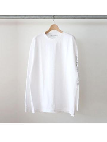 Machine work L/S tee (WHT)