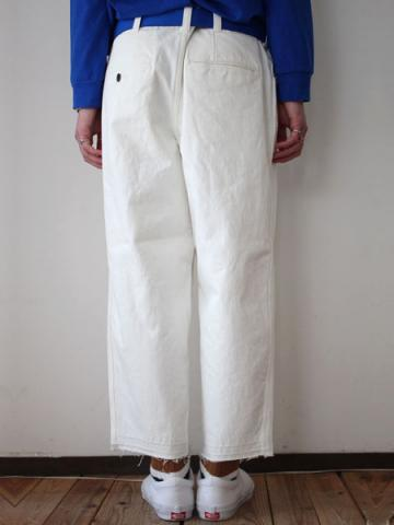 Oversized tapered pants (WHT)サブイメージ4