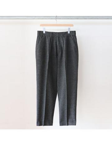WIDE TAPERED SLACKS (CHECK)
