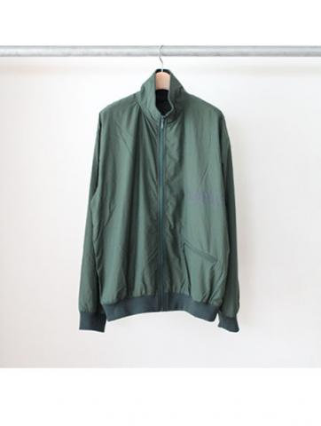 HIGH NECK JERSEY BLOUSON (GRN)