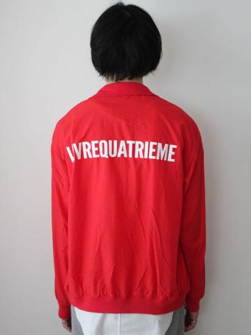 HIGH NECK JERSEY BLOUSON (RED)サブイメージ4