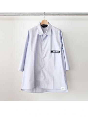 OPEN COLLAR DRESS SHIRT (NS)