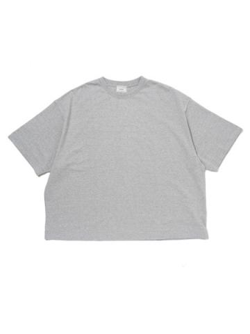 WIDE S/S T-SHIRT (GRY)