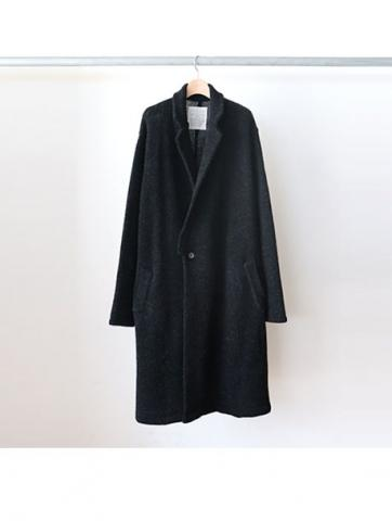 Chesterfield knit coat (BLK)