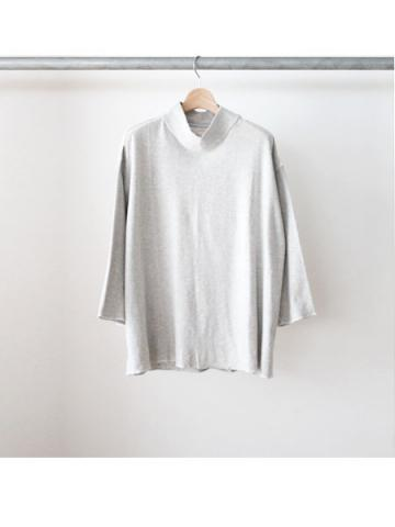 MOCK NECK SWEAT(GRY)