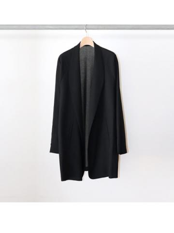 gown coat (BLK)
