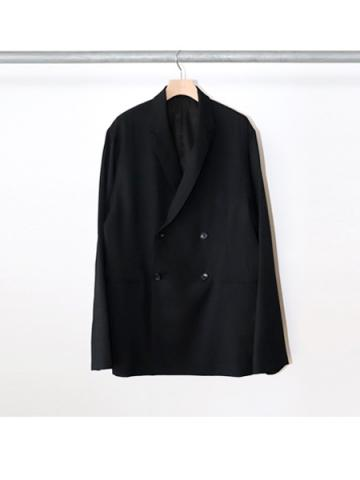 Double Breasted Jacket (BLK)