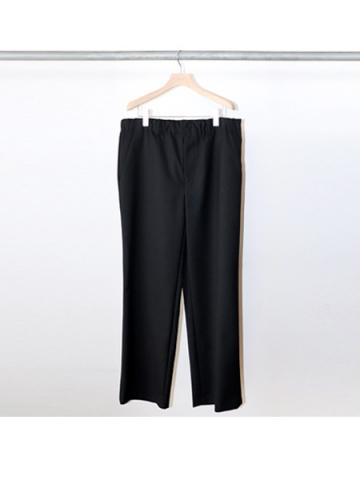straight easy pants (BLK)
