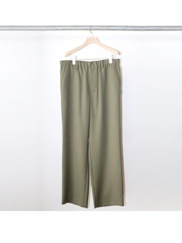 straight easy pants (GRN)