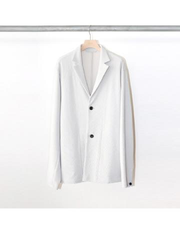 cord pique jacket (LIGHT GRAY)