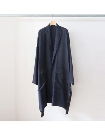 oversize gown (NAVY)