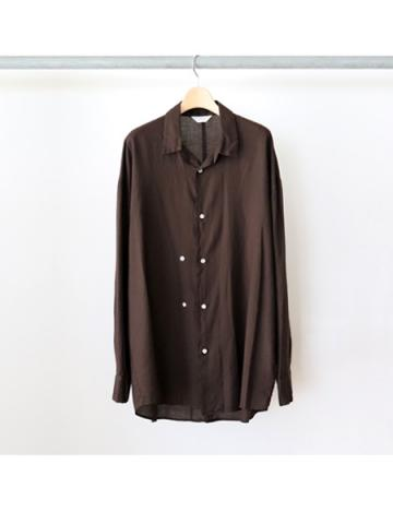 double button shirts (BRN)