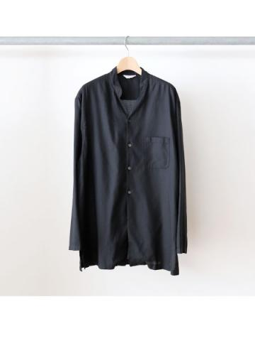 double buton china shirts (BLK)