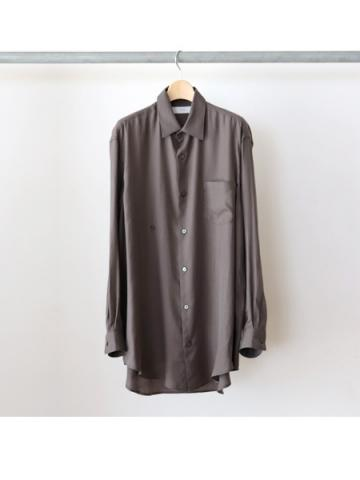drape double one button shirts  (CHA)