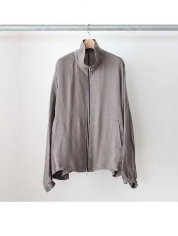high neck blouson (GRY)