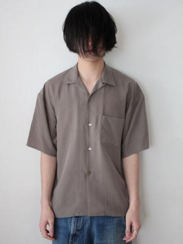 open collar ss shirts (GRY)サブイメージ1