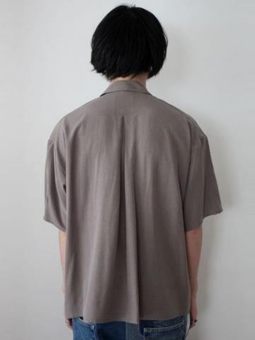 open collar ss shirts (GRY)サブイメージ3