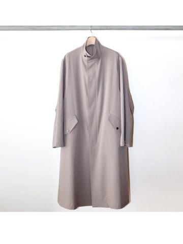 POLYESTER / FLY FRONT OVER COAT (GRG)