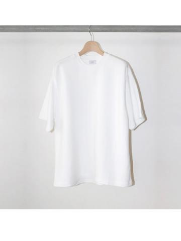 COTTON LINKS / CREW NECK S/S TEE (WHT)