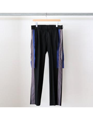 two line trousers (BK)