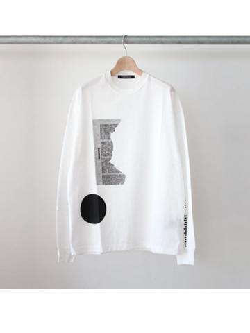 long sleeve tee (WHT)