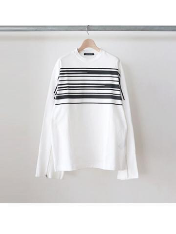 PLASTIC long sleeve tee (WHT)