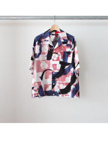 open collar shirt