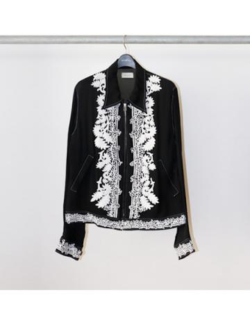 Indian Embroidery Blouson (BLK)