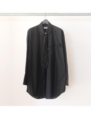 Cape shirt (BLK)