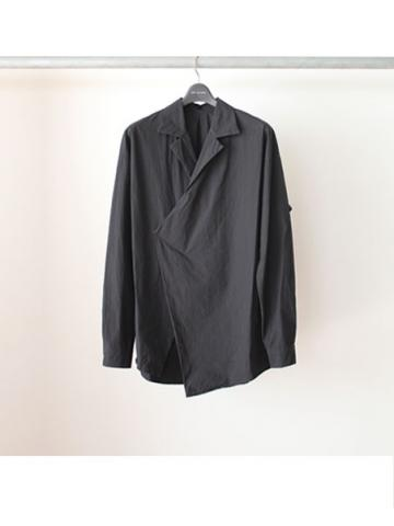 Open Collar Shirt. Ver.2 (BLK)